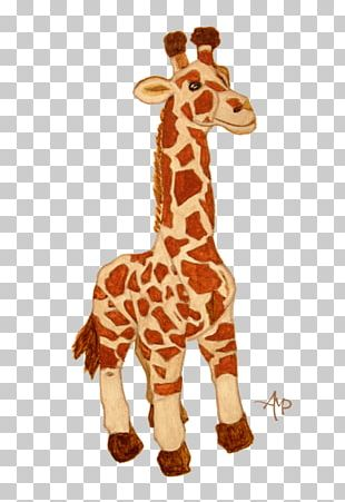 Giraffe Neck Stuffed Animals & Cuddly Toys Terrestrial Animal Wildlife PNG