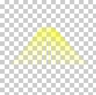 Yellow Triangle Pattern PNG