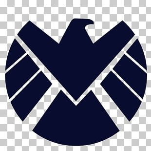 S.H.I.E.L.D. Marvel Cinematic Universe Logo Stencil Wall Decal PNG