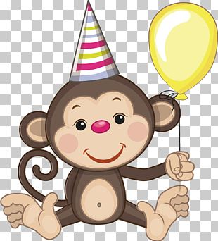 Birthday Greeting Card Cartoon PNG