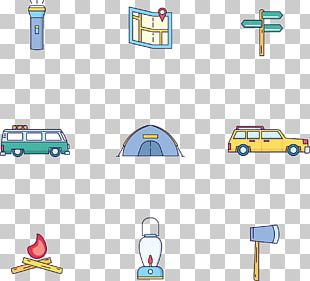 Camping Point Illustration PNG