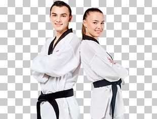 Dobok Karate Taekwondo Black Belt Tang Soo Do PNG