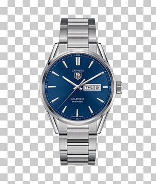 TAG Heuer Carrera Calibre 5 Chronograph Watch Jewellery PNG