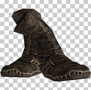 Boot The Elder Scrolls V: Skyrim Nexus Mods Leather Shoe PNG