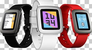 Pebble Time Round Smartwatch Pebble STEEL PNG