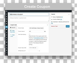 Gift Card WooCommerce Computer Software Coupon PNG