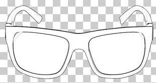 Goggles Sunglasses White PNG