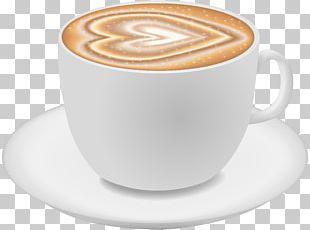 Cappuccino White Coffee Ristretto Cuban Espresso Caffè Americano PNG