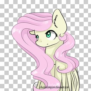 Horse Illustration Pink M Nose PNG