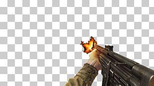 Firearm Weapon Machine Gun Muzzle Flash Shooting PNG