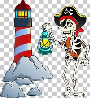 Piracy Cartoon Skeleton PNG