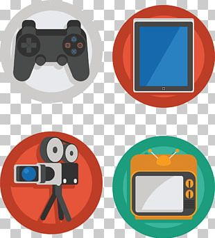 Photographic Film Video Camera Movie Camera Icon PNG