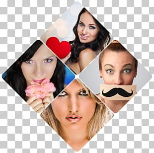 Photomontage Photography Rhombus Collage PNG