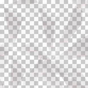 White Symmetry Pattern PNG