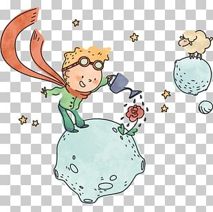 The Little Prince Gornate-Olona Child Sticker PNG