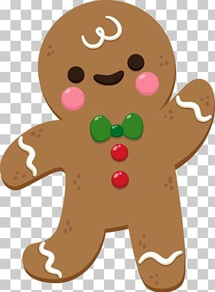 The Gingerbread Man Biscuit PNG