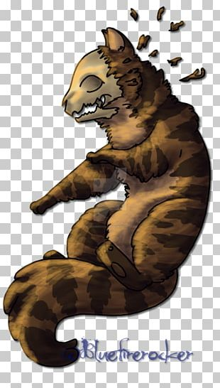 Tiger Cat Claw Cartoon PNG