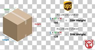 Dimensional Weight FedEx Cargo United Parcel Service United States Postal Service PNG