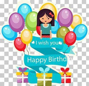Birthday Cake Wedding Invitation Greeting Card Wish PNG