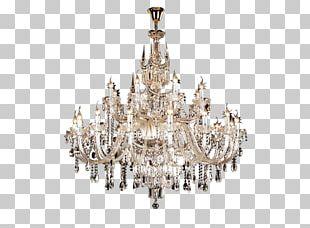 Chandelier Light Fixture Incandescent Light Bulb Ceiling PNG