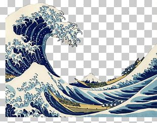 The Great Wave Off Kanagawa Painting TARDIS AllPosters.com PNG