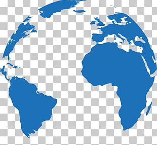 World Map Globe United States PNG