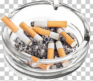 Ashtray Cigarette Tobacco Smoking Stock Photography PNG