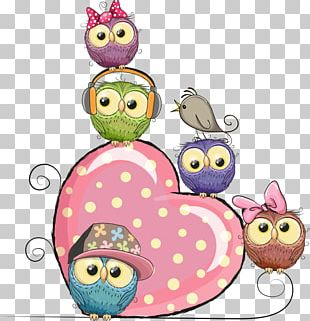 Owl Cartoon Stock Illustration Illustration PNG