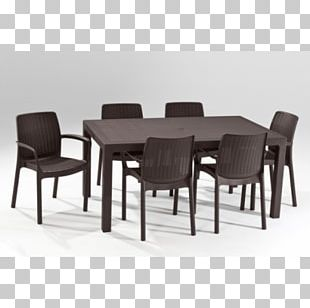 Table Garden Furniture Chair Dining Room PNG