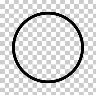 Circle Area Black And White Pattern PNG
