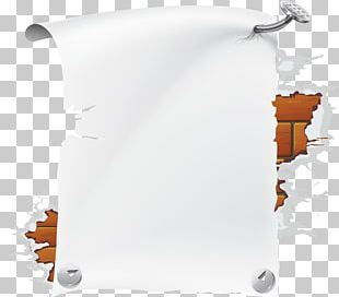 Paper Book Cover Page PNG
