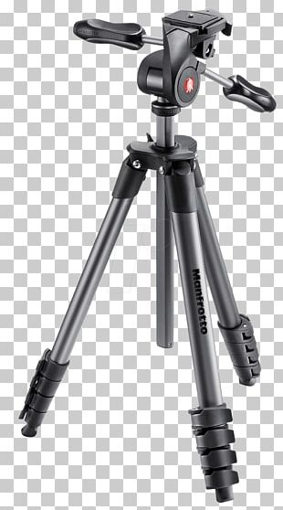 Manfrotto Tripod Photography Camera Ball Head PNG