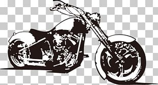 Motorcycle Accessories Chopper Scooter Bicycle PNG