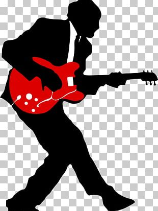 1950s Rock And Roll Rock Music Guitarist PNG