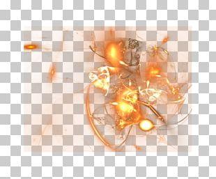 Fractal Orange PNG