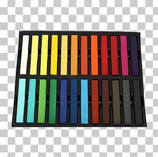 Human Hair Color Chalk Hair Coloring PNG