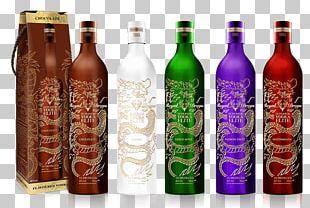 Liqueur Glass Bottle Wine Vodka Plastic Bottle PNG