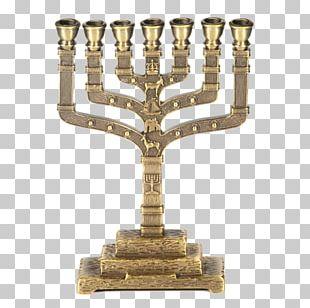 Twelve Tribes Of Israel Menorah Mezuzah Jewish People PNG