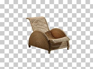 Wing Chair Garden Furniture Deckchair PNG