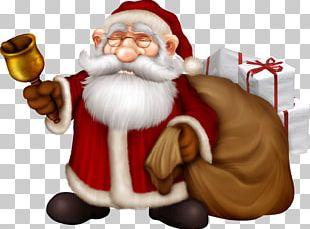 Santa Claus Christmas Card Greeting & Note Cards Gift PNG