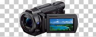 Sony Handycam FDR-AX53 Video Cameras PNG