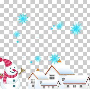 Graphic Design Winter Snowman PNG