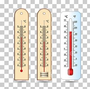 Thermometer Temperature Measuring Instrument Illustration PNG