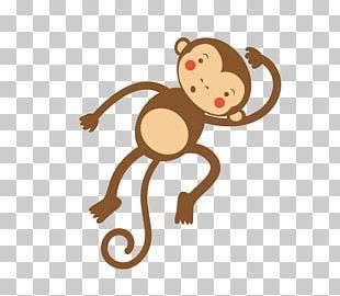 Cartoon Humour Monkey Illustration PNG