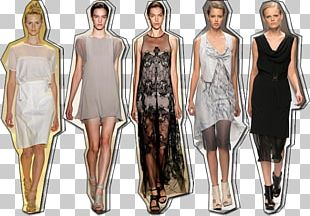 Fashion Show Supermodel Dress Runway Gown PNG