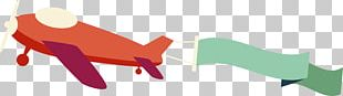 Airplane Red Cartoon PNG