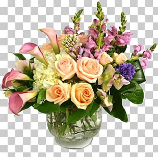 Flower Bouquet Birthday Cut Flowers Floristry PNG