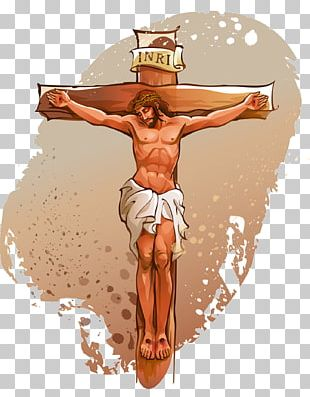 Crucifixion Of Jesus Cross Illustration PNG
