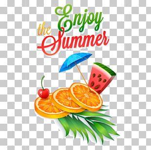 Juice Cocktail Summer Fruit PNG