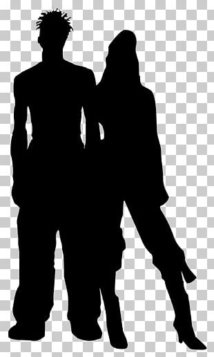 Silhouette Couple Photography PNG